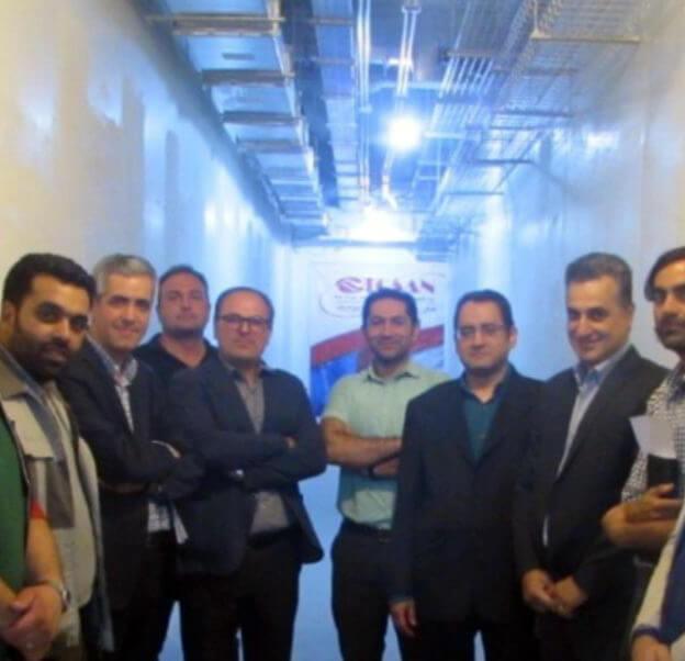 بازدید مدیرعامل و مدیران شرکت فناوری بورس از روند تکمیل دیتاسنتر شرکت بورس تهران
